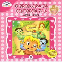 O problema da Centopeia Zilá Education, Books, Kids, Children's Literature, Fun For Kids, Kid Books, Index Cards, Classroom, Poems