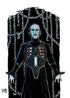 PINHEAD COLOR by mister-bones