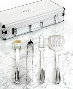 All-Clad Stainless Steel BBQ Set