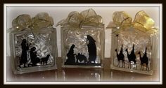 Super Saturday Crafts: Wise men for the Glass Block