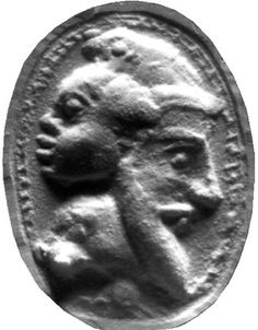 Ancient phoenician coin