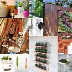 Integrate my art and design skills with my home gardening # urban #garden #art