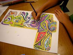This art lesson could be done by an art sub.  It might be best for middle school or high school.  Check out this lesson via Art Sub Lessons.