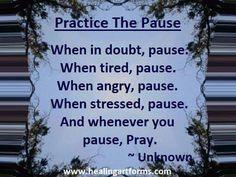 Pause fir Prayer