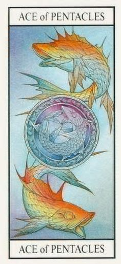 Ace of Pentacles: tarot card meaning of Present: Reassuring news will come to you. It may help you realize that you are on the appropriate path to receive the recognition and material rewards you deserve.