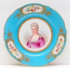 """Sèvres porcelain titled """"Duchesse de Berry"""""""