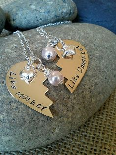 mother-daughter necklaces
