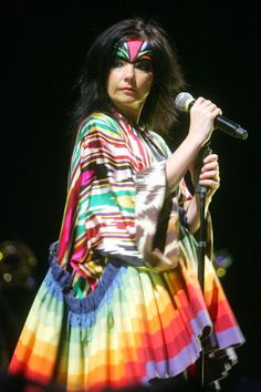 In honor of Bjork retrospective at MOMA, take a look through her untamed sartorial moments.