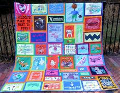 1000+ images about T-Shirt Quilts on Pinterest Quilt, T shirts and Queen size