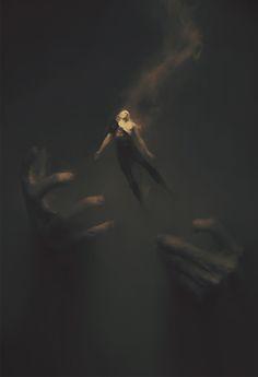 "ArtStation - Elric of Melnibone, Piotr Jabłoński    ""The Caverns of the sea king"""
