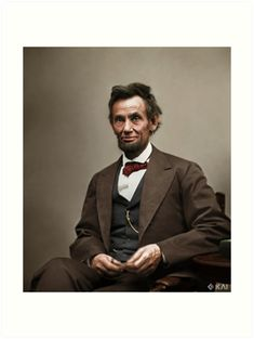 President - Abraham Lincoln was the president of the US. Lincoln was assassinated shortly before the end of the Civil War.