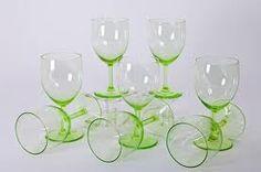 Annagroene glaasjes Andries Copier