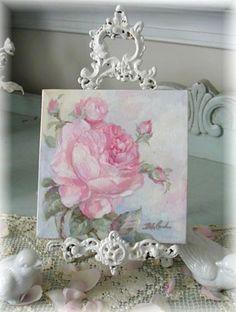 Pink Passion - Debi Coules Romantic Art