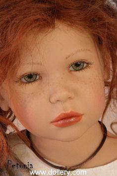 Zofia Zawieruszynski Collectible Dolls.               Petunia