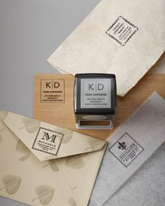 Custom+Ink+Stamps+by+Three+Designing+Women+at+Neiman+Marcus.