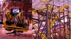 El Loco Gets Ready To Roll In Las Vegas January 2014 - First Roller Coaster Car Rides Into The Adventuredome At Circus Circus http://www.accessvegas.com/news/fun-and-thrill/el-loco-january-2014-roller-coaster-adventuredome-circus-circus/2013/12/20