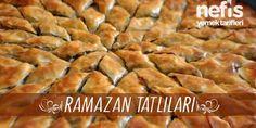ramazan tatlıları tarifleri