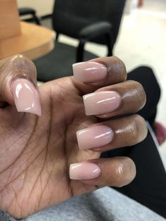 Want some ideas for wedding nail polish designs? This article is a collection of our favorite nail polish designs for your special day. Work Nails, Aycrlic Nails, Nude Nails, Nail Manicure, Short Square Acrylic Nails, Best Acrylic Nails, Square Nails, Gorgeous Nails, Pretty Nails