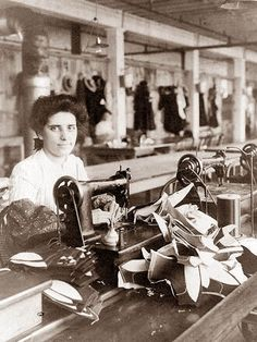 shoe factories - My Mom worked for many years in a local shoe factory