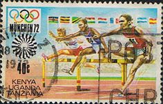 Postage Stamps Kenya Uganda Tanzania 1972 Olympic Games Fine Used SG 314 Scott 250 For Sale Take a look