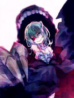 Quem diria que a grande coruja de um olho seria apenas uma garotinha carismática e fofa?e ainda por cima a escritora do livro preferido de Ken,essa é Eto Yoshimura(Takatsuki Sen) uma ghoul de um olho que acaba conhecendo Kaneki e tendo relações com ele,assim a fazendo ficar obcecada pelo ghoul do tapa-olho.Ela é dona da Aogiri,uma organização de ghouls assassinos.Eto ainda uma personagem muito misteriosa,ela é o resultado de uma humana com um ghoul.Sen é filha do gerente da Anteiku.