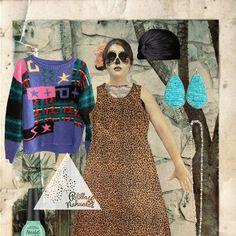 Vestido Selva Negra: Suéter El Calientito  Talla: CH                     Talla: M  Precio: $200                Precio: $150  Out Fit Completo: $350