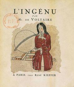 Une des oeuvre les plus connue de Voltaire.