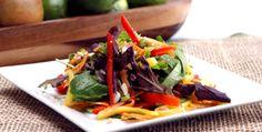 Thai Mango Salad from Canadian Living.