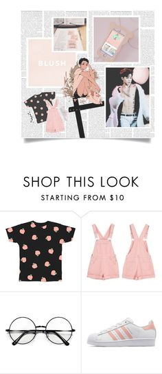 """""""P A R K  J I M I N + R E A D  D E S C R I P T I O N"""" by typical-ghoul ❤ liked on Polyvore featuring adidas Originals"""