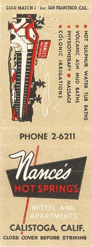 Nance's Hot Springs Motel, Calistoga, CA by jericl cat, via Flickr