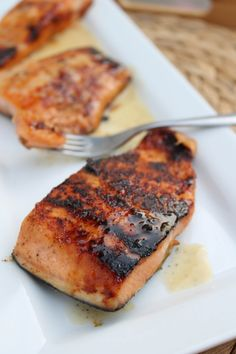 This is a pan fried recipe using honey (we used manuka),  burnt butter and lime zest.  We fried this while the other salmon recipes baked.  This was my #1 fav of all of them.  Hunter made 5 salmon recipes last night (bc Salmon is usually only 5 min prep time).