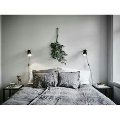 ▪ Dormitório em tons de cinza ▪ lindo ▪ hhinspiration ▪ hhreferência ▪ interior design inspiration ▪