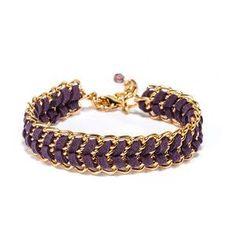 Friendship Bracelet Purple