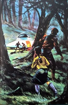 Art. Sci-fi art. From the 70s.