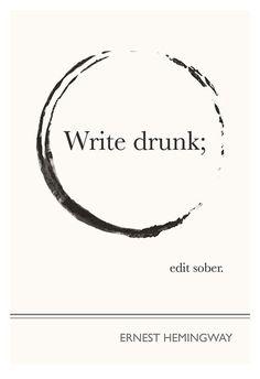 Hemingway quote - Evan Roberson's graphic design
