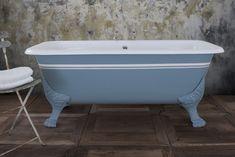 Roman Cast Iron Bath Cast Iron Bath, Clawfoot Bathtub, Standing Bath, Colours, The Originals, Baths, Roman, Bathrooms, Decor