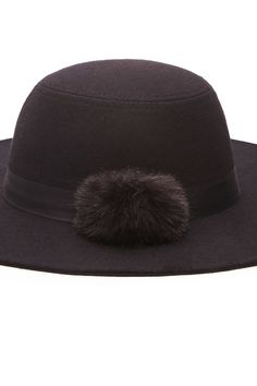 PEDIDOS SOLO POR #ENCARGO  #CatálogoNoviembre2016  Código: F-12 Pom-Pom Floppy Felt Hat Color: Black Precio: ₡21.900  Whatsapp  ☎8963-3317, escribir al inbox o maya.boutique@hotmail.com  Envíos a todo el país. #MayaBoutiqueCR  💖