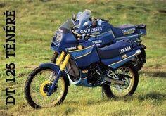 DT 125R Ténéré, 1988-1989