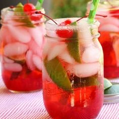 Very Cherry Shirley Temple with Lime