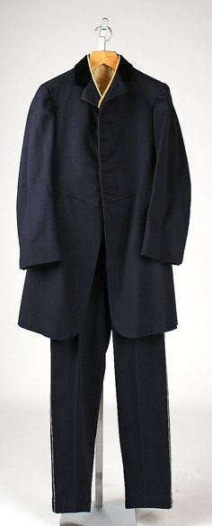 Livery  Brooks Brothers  Date: 1904   Culture: American   Medium: wool, cotton
