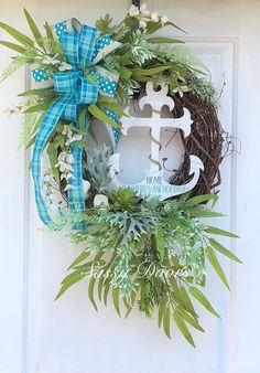 Beach Wreath, Nautic