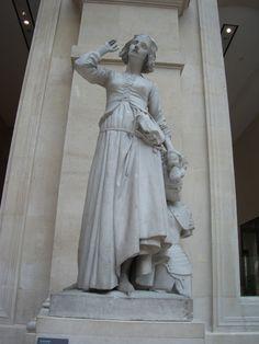 Joan of Arc #statue | joanofarc.com #joanofarc #beans