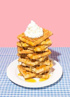 art direction | waffles food styling still life photography - Danielle Basser