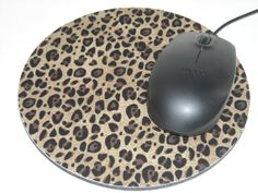Mouse Pad/ mousepad/ Mat  Round Computer by NeedleNookCreations, $9.00