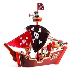 Adventure on the high seas with Arty Toys pirates