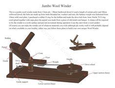 Wool Winder Plans