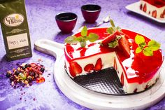 Letni sernik z owocami i galaretką z herbaty #sernik #cheesecake #strawberries #truskawki #cake #herbata #tea #czasnaherbate  #zawszeznajdeczasnaherbate #przepis #pycha #delicious #food #good #recipe #foodporn #omnomnom #yummi #tasty #photooftheday #pickoftheday #recipes #ideas #time #afternoon