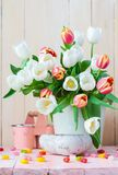 Still Life With Tulips - Download From Over 57 Million High Quality Stock Photos, Images, Vectors. Sign up for FREE today. Image: 15439380