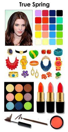 Képtalálatok a következőre: clear spring makeup Bright Spring, Clear Spring, Warm Spring, Spring Color Palette, Spring Colors, Seasonal Color Analysis, Color Me Beautiful, Warm Undertone, Spring Makeup