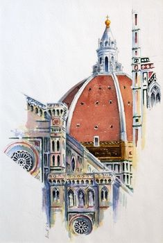 360. Duomo, Florence.   by Ros Ridley